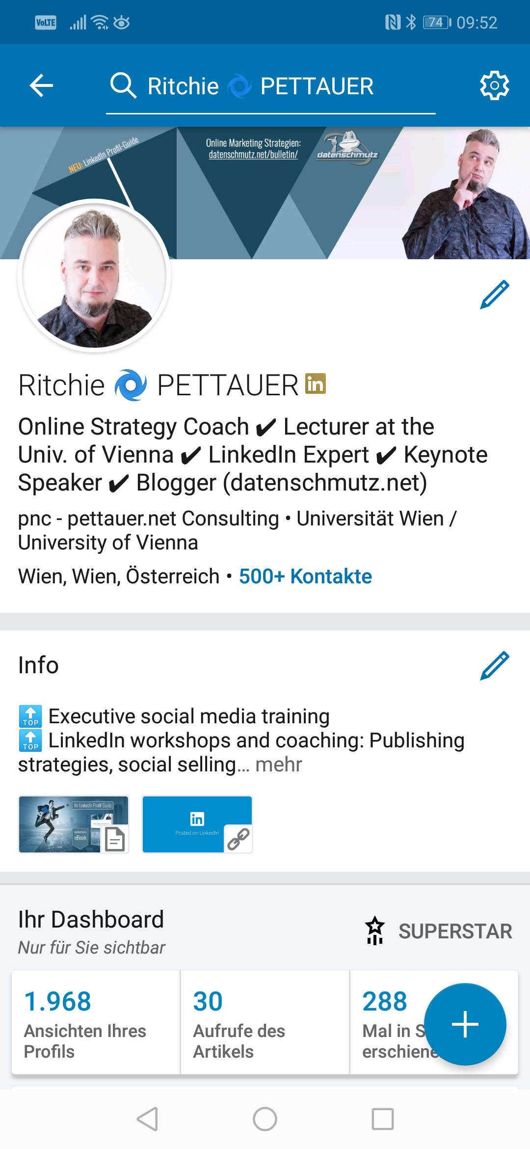 LinkedIn Android App Redesign