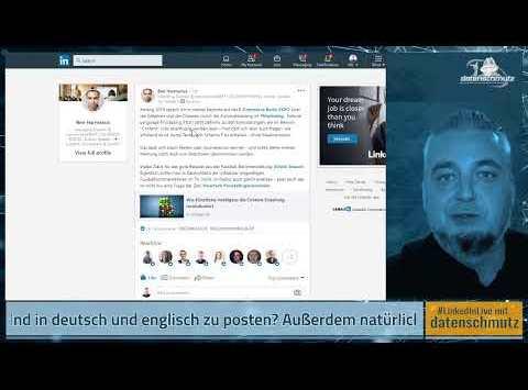 #LinkedInShow #12: Alles über LinkedIns Spracheinstellungen