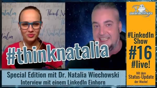 #LinkedInShow #16 mit Special Guest Dr. Natalia Wiechowski!