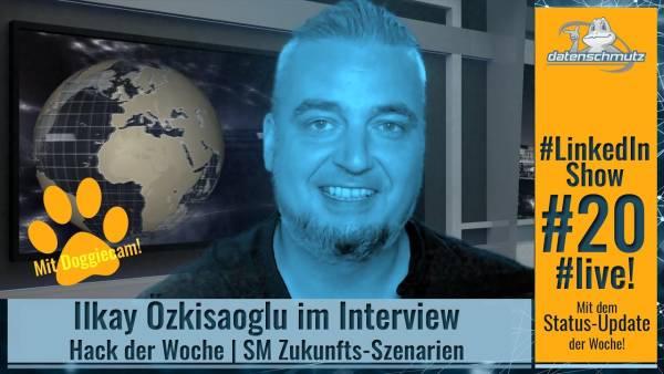 #LinkedInshow #20 mit Ilkay Özkisaoglu: Social Selling und Kunden-Zentrierung