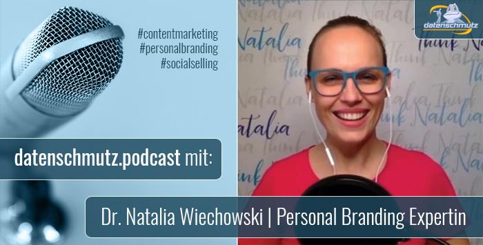 Dr. Natalia Wiechowski - datenschmutz Podcast