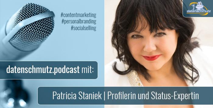 Patricia Staniek im datenschmutz Podcast