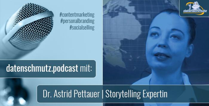 Dr. Astrid Pettauer im datenschmutz Podcast