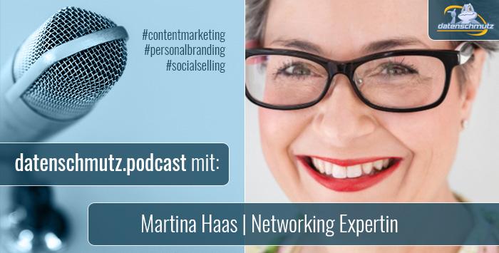 Martina Haas im datenschmutz Podcast