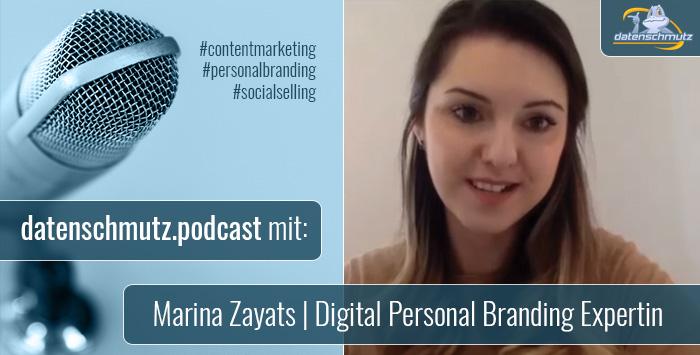 Marina Zayats im datenschmutz Podcast