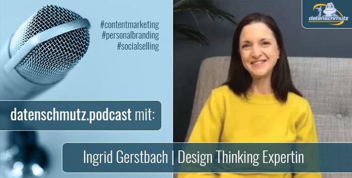 Ingrid Gerstbach im datenschmutz Podcast