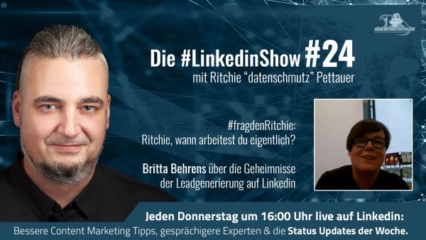 #LinkedinShow #24 mit Britta Behrens