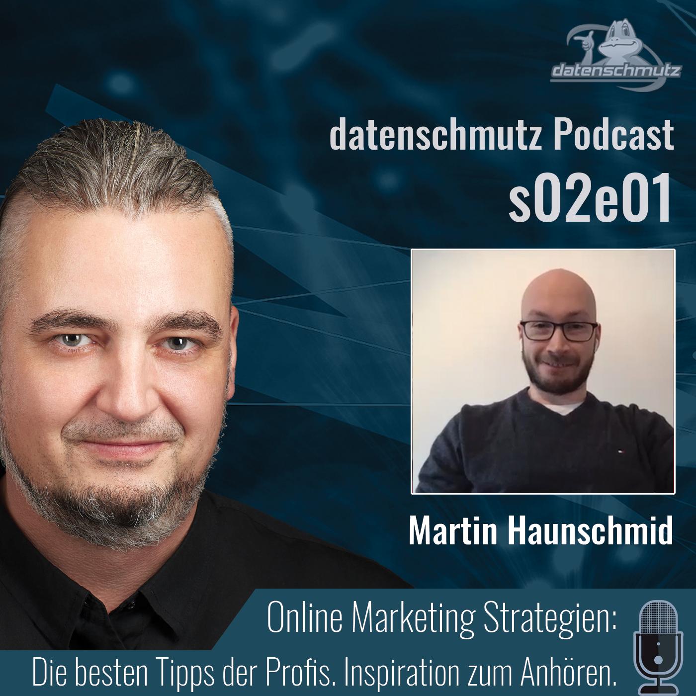 Martin Haunschmid im datenschmutz Podcast