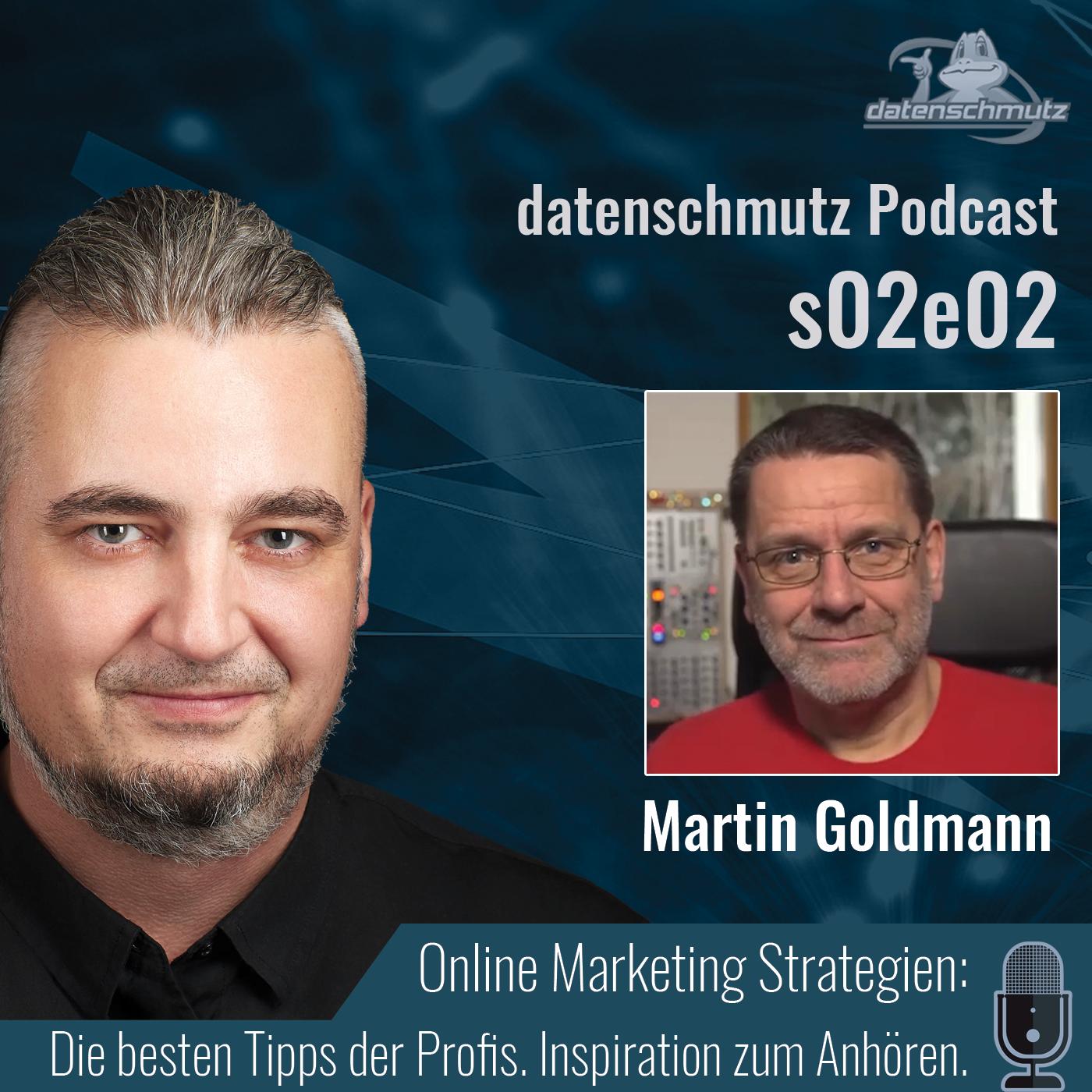 Martin Goldmann im datenschmutz Podcast