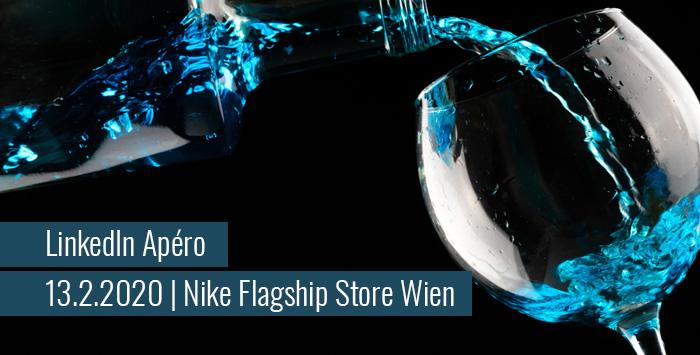 LinkedIn Apéro im Nike Flagship Store Wien