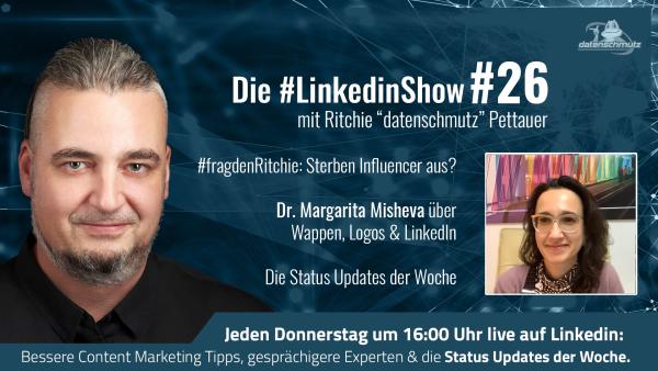 LinkedInShow #26 mit Dr. Margarita Misheva
