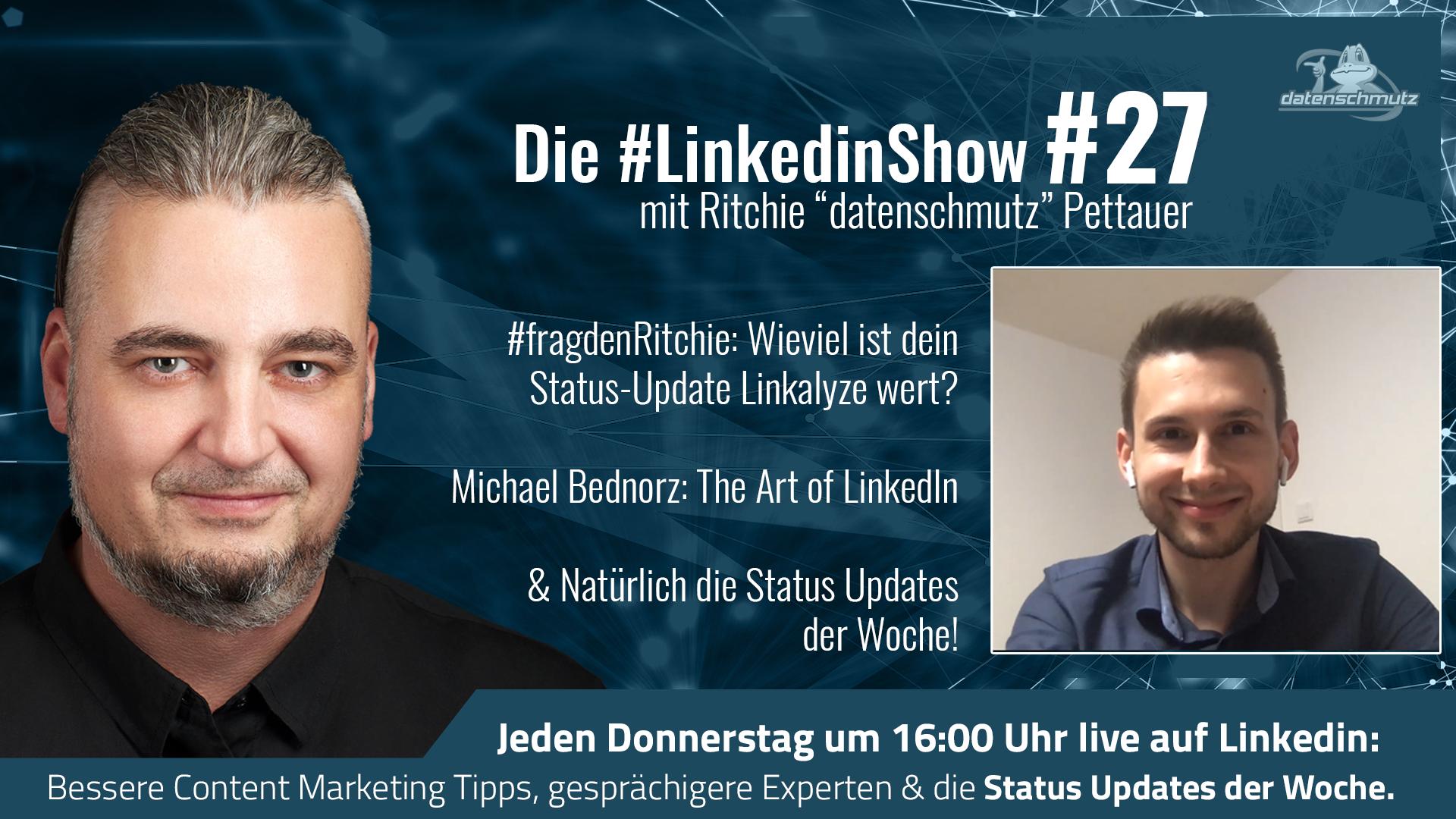 LinkedInShow #27 mit Michael Bednorz