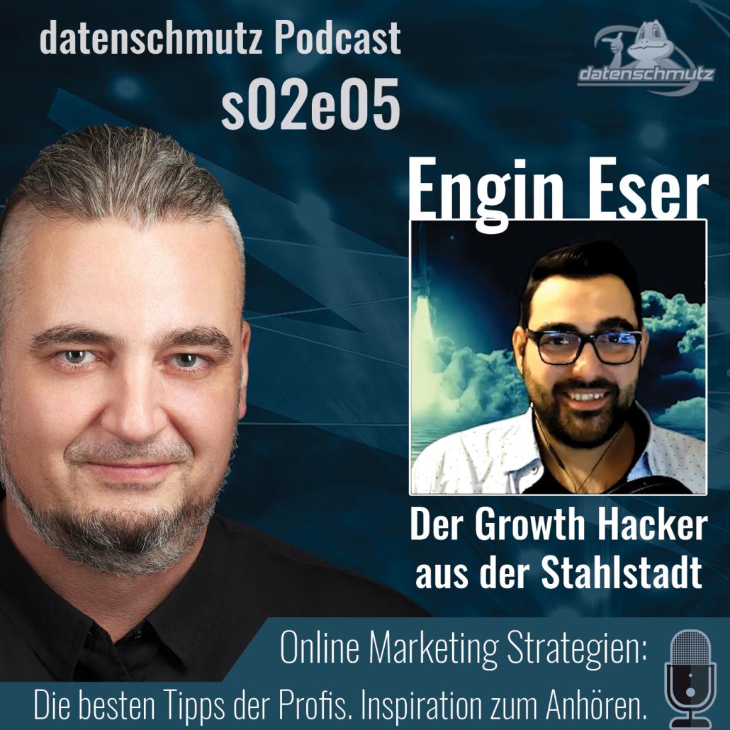 Engin Eser im datenschmutz.Podcast