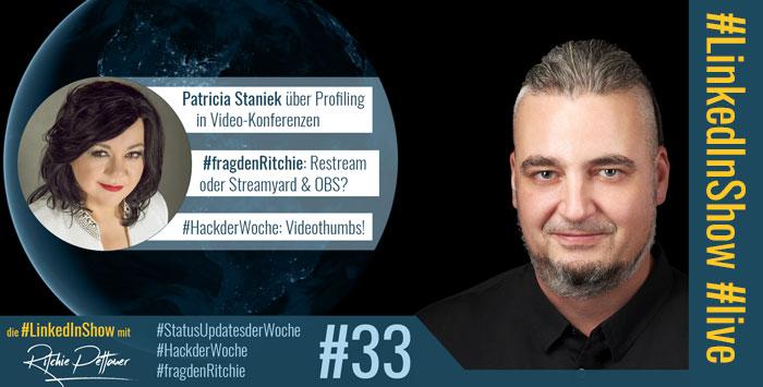 Patricia Staniek zu Gast in der #LinkedInShow #33