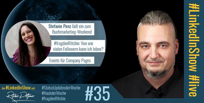 #LinkedInShow #35 mit Stefanie Penz
