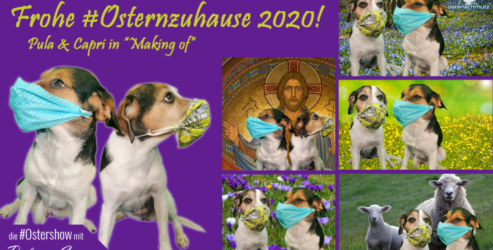Ostern zuhause 2020 Making Of
