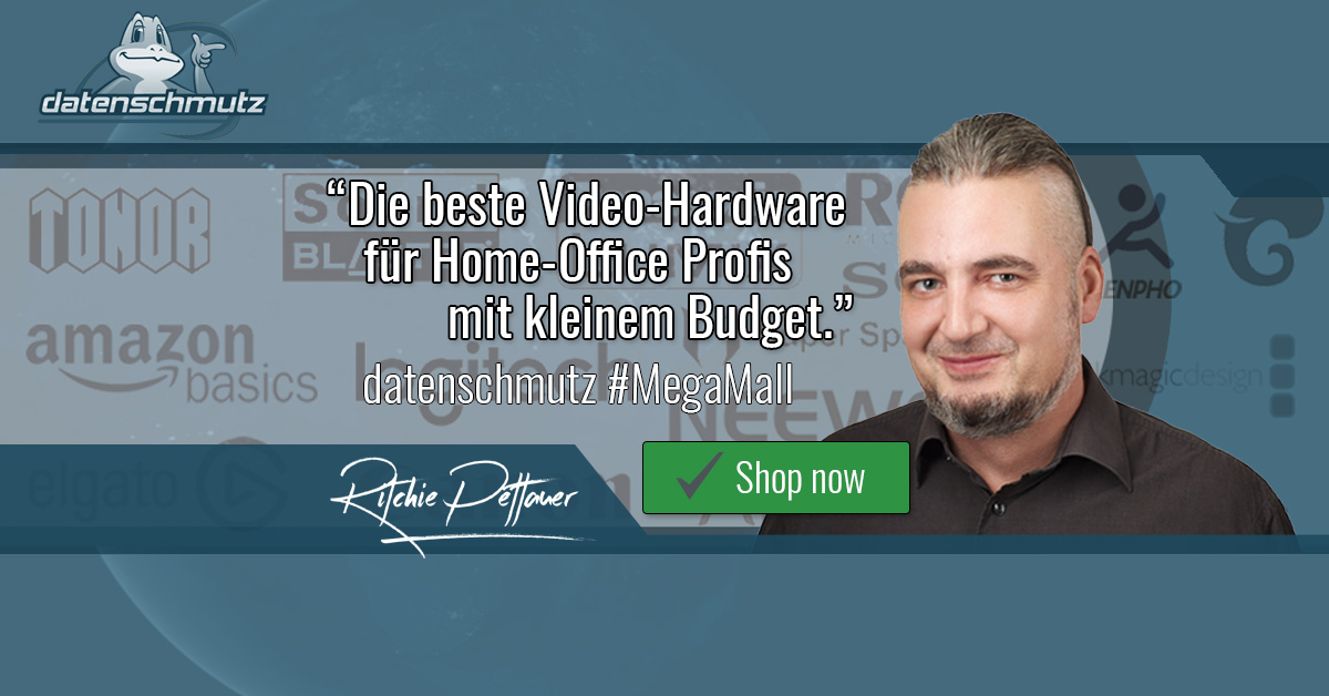 Video-Meeting und Home-Office Shop