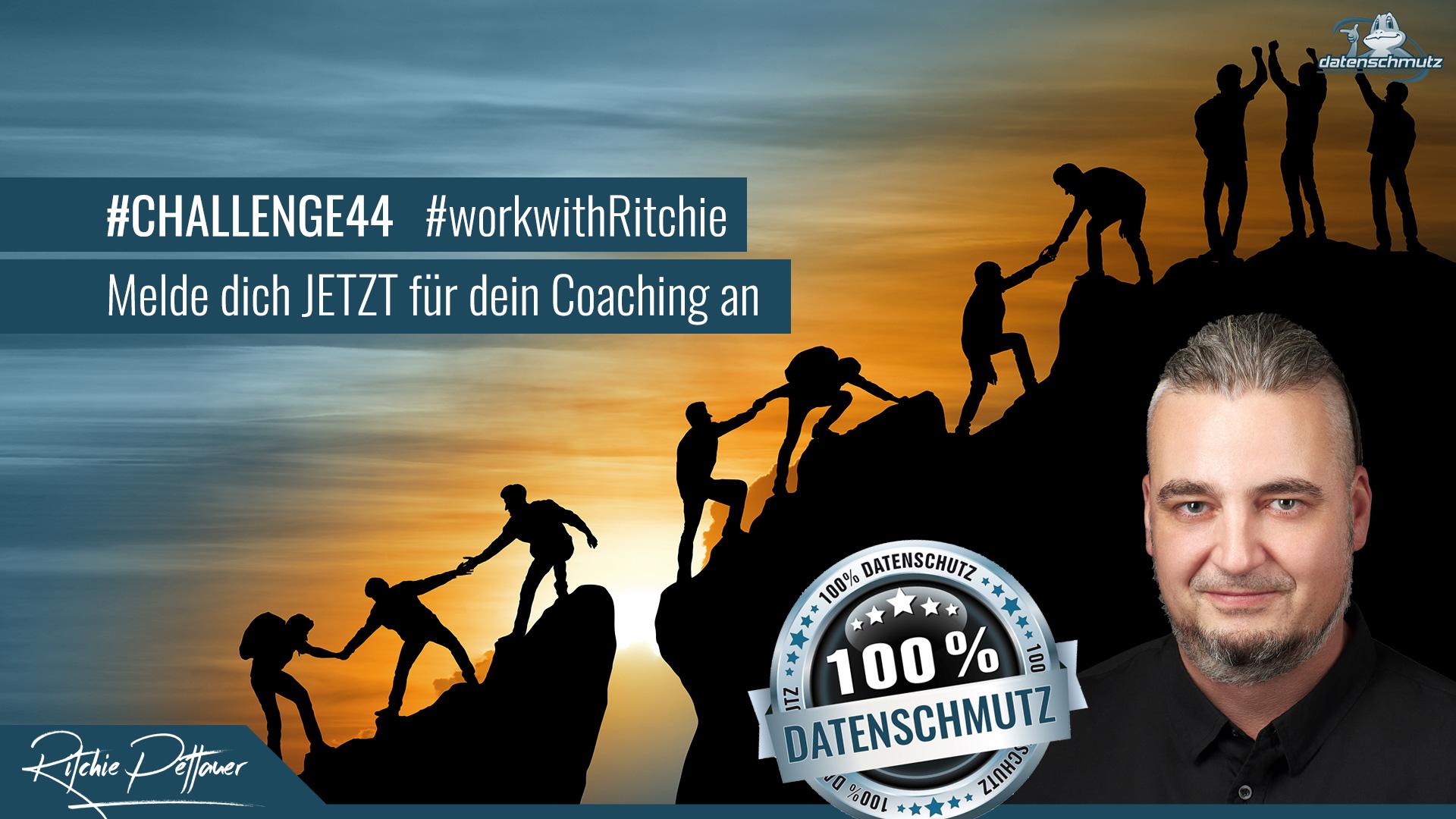 LinkedIn Coaching für 1 Monat: Die #challenge44