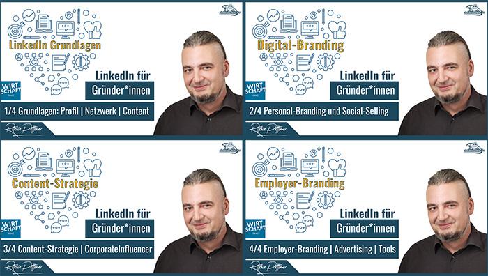 Linkedin-Webinar-Reihe
