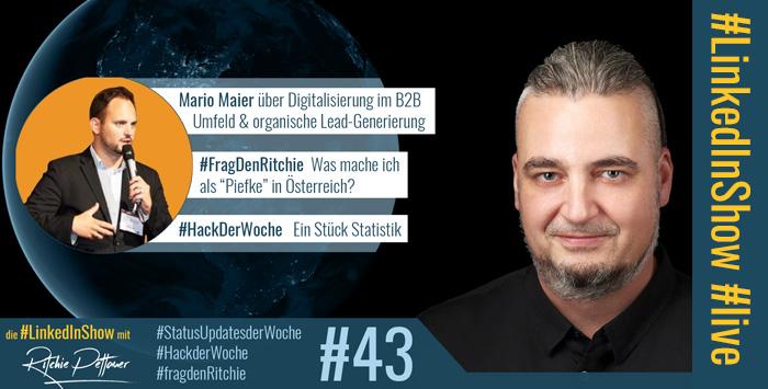 #LinkedInShow #43 mit Mario Maier