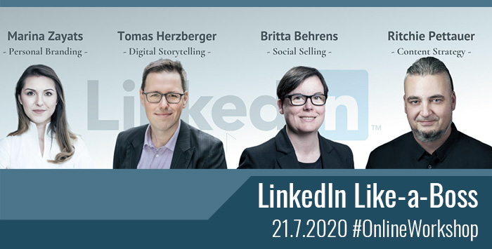 Online-Workshop: LinkedIn Like a Boss